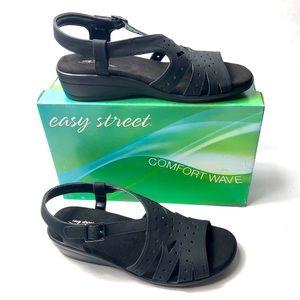 "Easy Street ""Roxanne"" Wedge Sandals"
